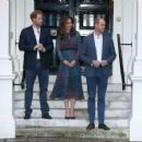 Prince William, Duchess Catherine and Harry dine with President Obama - 454 x 355