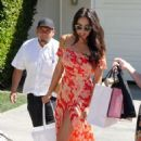 Shay Mitchell – Arriving to The in Style Gifting Suite in Brentwood - 454 x 711