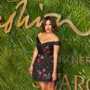 Caroline Flack –2017 Fashion Awards in London - 454 x 681
