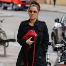 Caroline Flack – Heading to the gym in London