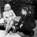 Shirley Eaton and Mickey Spillane