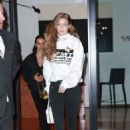Gigi Hadid – Leaving her hotel in New York City
