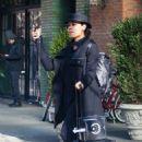 Rosario Dawson – Catching a cab in New York - 454 x 709