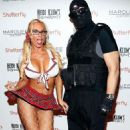 she and husband Ice-T attend Heidi Klum's Halloween bash