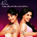 Asin and Kajal for Lux Advert - 454 x 381
