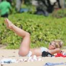 Britney Spears Bikini Candids In Kauai