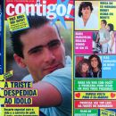 Lauro Carona - Contigo! Magazine Cover [Brazil] (27 July 1989)
