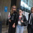 Kristen Stewart and Stella Maxwell at Charles de Gaulle airport in Paris - 454 x 641