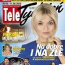 Emilia Komarnicka - Tele Tydzień Magazine Cover [Poland] (5 June 2015)