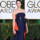 Caitriona Balfe at 74th Golden Globes Awards - arrivals - 454 x 714