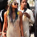 Asap Rocky and Chanel Iman