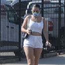 Charli XCX – out for lunch in Los Angeles