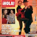 Isabel Preysler - Hola! Magazine Cover [Argentina] (10 May 2016)