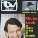 Michel Leeb - TV Jour Magazine Cover [France] (15 May 1985)