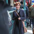 Scarlett Johansson – Filming new film in NY - 454 x 731