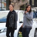 Ashley Tisdale and Sabrina Jalees – Out for lunch together in Los Angeles
