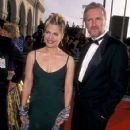 James Cameron and Linda Hamilton attends The 4th Annual Screen Actors Guild Awards (1998)