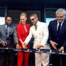 Bar Refaeli Hublots Hublot2 Manufacturing Building Grand Opening In Nyon