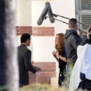 Mandy Moore – On the set of 'This Is Us' in Pasadena - 454 x 523