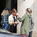 Alicia Vikander – Filming 'Euphoria' in Munich