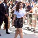 Ashley Graham at AOL Build in New York City - 454 x 568