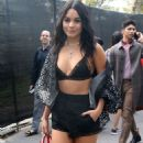 Vanessa Hudgens – Seen outside Carolina Herrera fashion show during NYFW 2019