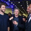 Liam Hemsworth-February 5, 2016-SiriusXM at Super Bowl 50 Radio Row - Day 2 - 454 x 293