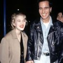 Drew Barrymore and boyfriend Leland Hayward at  'Sleeping with the Enemy' Film premiere, Los Angeles, America, 6 February 1991 - 385 x 540