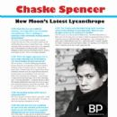 Chaske Spencer's University Link Magazine Interview