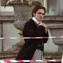 "Filming ""Bel Ami"" in London"