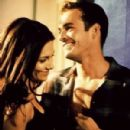 Luke Perry and Vanessa Marcil