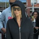 Amber Rose Shopping at Childsplay in Ilford town centre in London, France - April 23, 2015