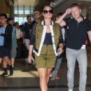 Demi Lovato – Seen At LAX Airport - 454 x 592