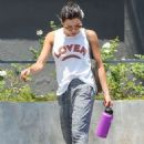 Jenna Dewan – Leaves her gym in West Holywood
