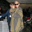 Gwen Stefani Departs JFK International Airport With An Assistant (Jan 29 2008)