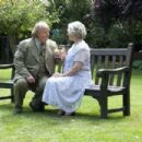 Left to Right: Roger Ashton-Griffiths as Jonathan and Gemma Jones as Helena. Photo by Keith Hamshere © 2010 Mediapro & Gravier Productions, Inc., Courtesy of Sony Pictures Classics - 454 x 302