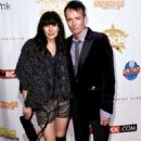 Scott Weiland and Jamie at Classic Rock And Roll Honour 2014 Award Ceremony at Avalon on November 4, 2014 in Hollywood, CA