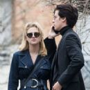 Lili Reinhart and Cole Sprouse – Out in Paris 04/02/2018 - 454 x 680
