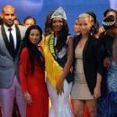 Amber Rose, Boris Kodjoe, and Karlie Redd at the Miss Earth Nigeria 2013 Finale in Lagos, Nigeria - September 23, 2013
