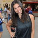 Roselyn Sanchez – Visits Camp Snoopy At Knott's Berry Farm in Buena Park, CA 8/27/2016 - 454 x 681