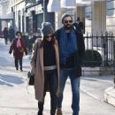 Abigail Spencer with her new boyfriend – Out in Paris - 454 x 587