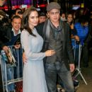 Angelina Jolie and Brad Pitt attend an official Academy Screening of BY THE SEA (November 3, 2015)