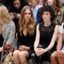 Cara Delevingne attends the Burberry Womenswear Spring/Summer 2016 show during London Fashion Week at Kensington Gardens on September 21, 2015 in London, England