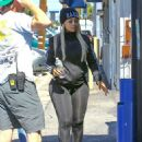 Blac Chyna and Rob Kardashian Arrive at a Studio To Film KUWTK in Los Angeles, California - July 7, 2016