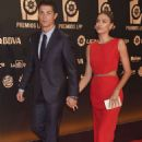 Cristiano Ronaldo Irina Shayk At La Liga Awards