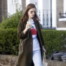 Rose Leslie – Out for a smoothie in London