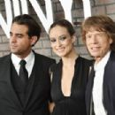 "Bobby Cannavale, Olivia Wilde, and Mick Jagger attend the New York premiere of ""Vinyl"" at Ziegfeld Theatre on January 15, 2016 in New York City."