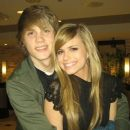 Tony Oller and Carlson Young