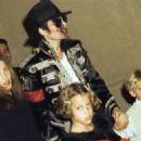 Lisa Marie Presley, Michael Jackson, Riley Keough, Benjamin Keough