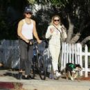 Maika Monroe – Out for dog walk in West Hollywood - 454 x 303